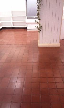 Quarry Tiles After