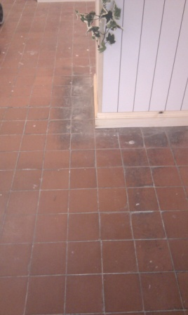 Quarry Tiles Before