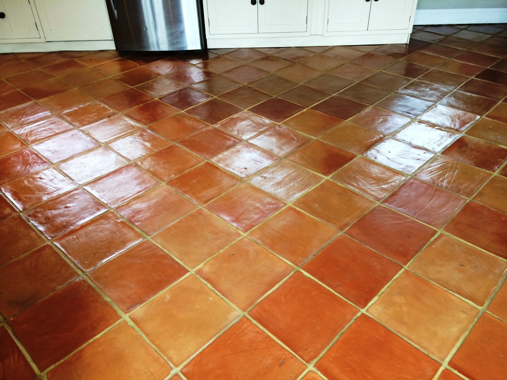 Wiltshire tile doctor your local tile stone and grout cleaning terracotta tiled floor salisbury after cleaning and sealing dailygadgetfo Image collections