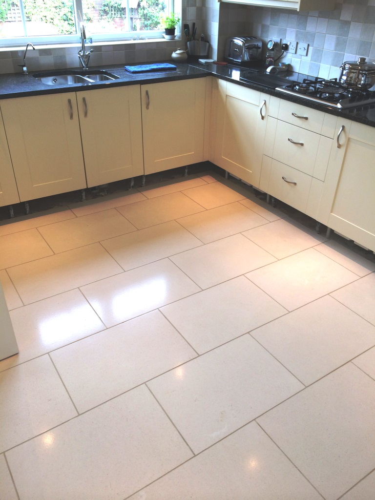 Limestone Floor Tiles In Pewsey After
