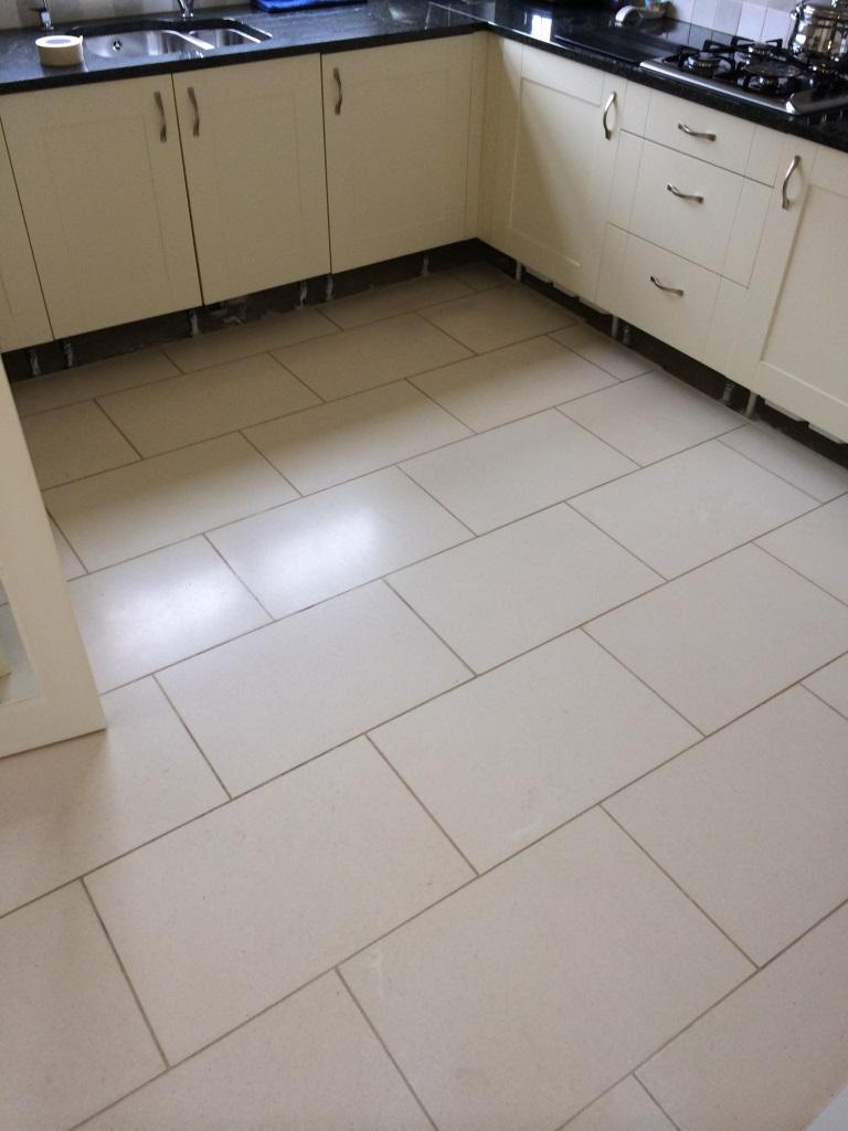 Limestone Floor Tiles In Pewsey Before