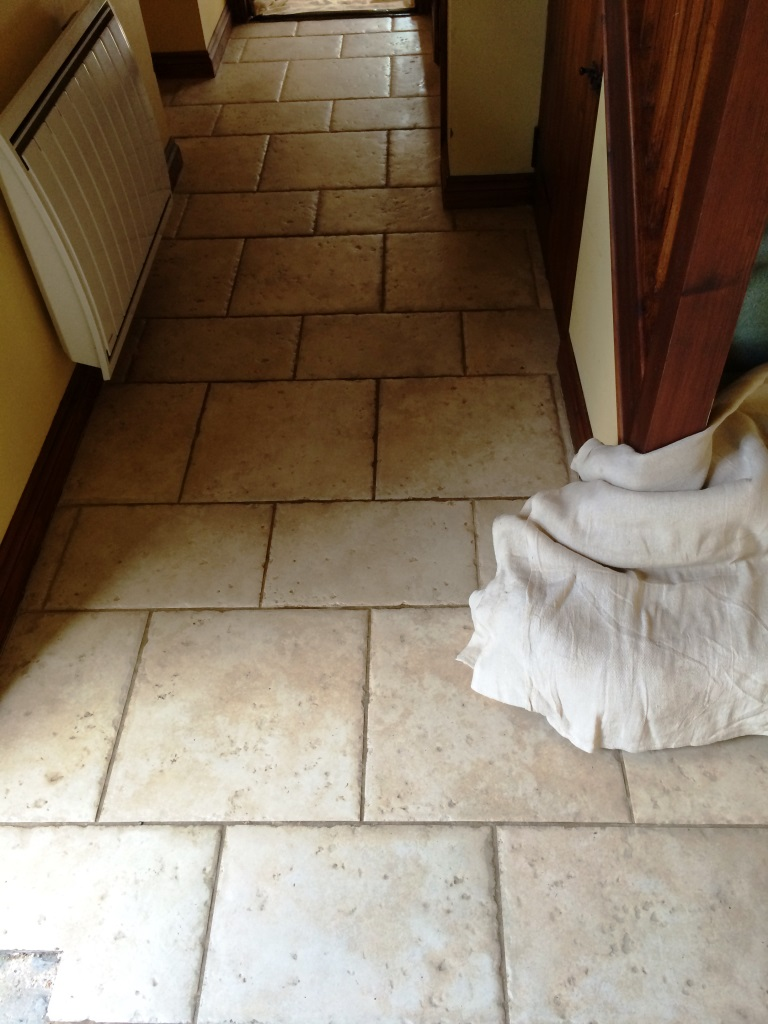Porcelain Tile Salisbury Before Cleaning