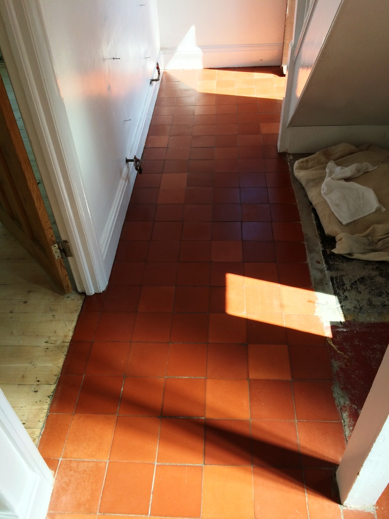 Quarry Tiles Swindon After Cleaning