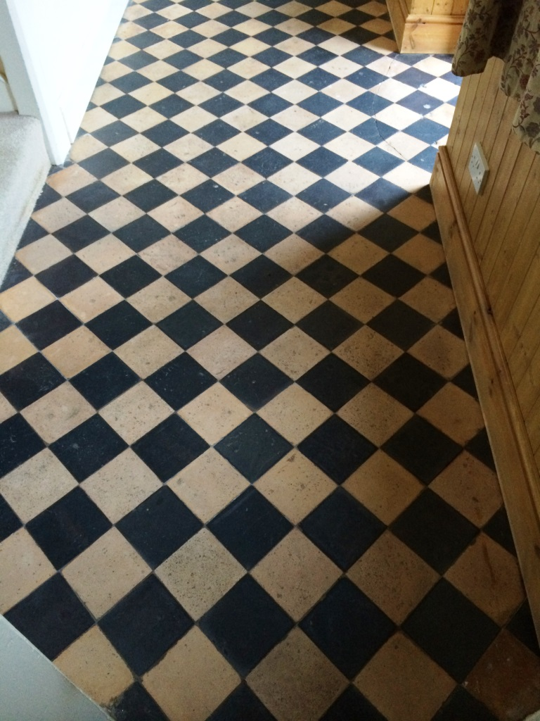 Cleaning and Sealing Quarry Tiles in Brinkworth Cleaned