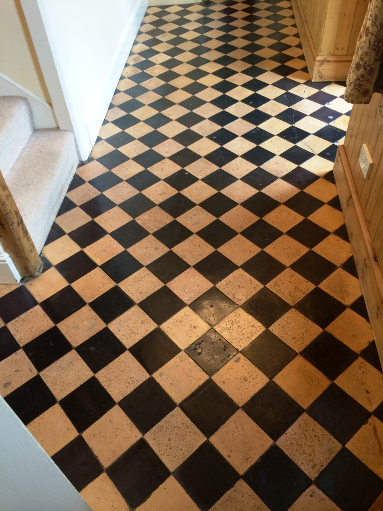 Cleaning and Sealing Quarry Tiles in Brinkworth Sealed