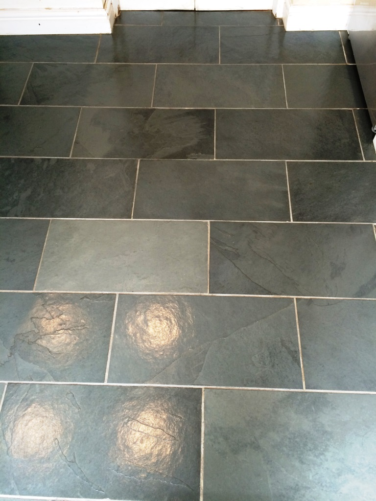 Slate Floor Malmesbury After Sealing