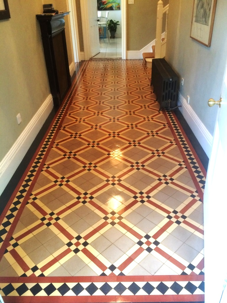 Victorian Floor Heytesbury After Cleaning