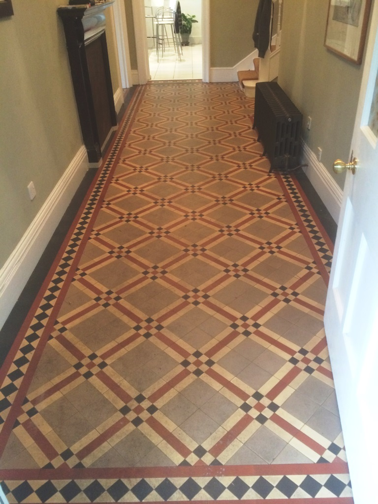 Victorian Floor Heytesbury Before Cleaning