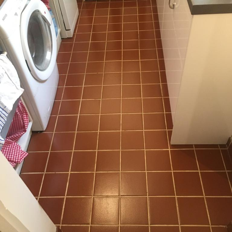 Quarry Tiles After Cleaning Salisbury